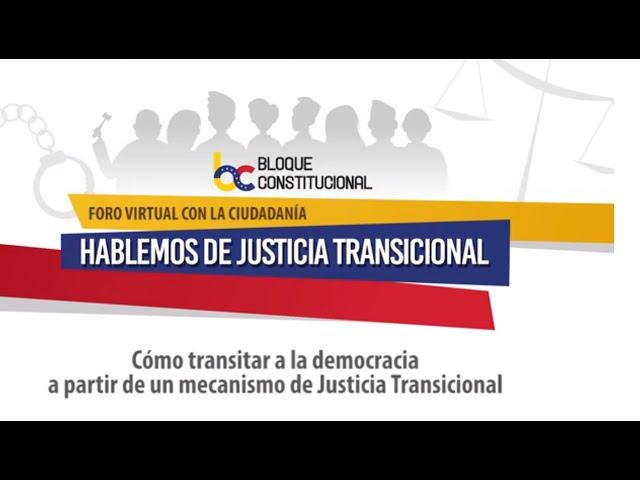 ¿Cómo avanzar a la democracia a partir de un mecanismo de Justicia Transicional?