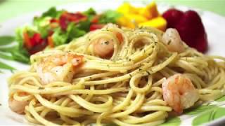 Simple Shrimp and Garlic Spaghetti