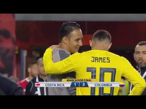 Colombia Vs Costa Rica (3 - 1) Highlights & All Goals  - International Friendly
