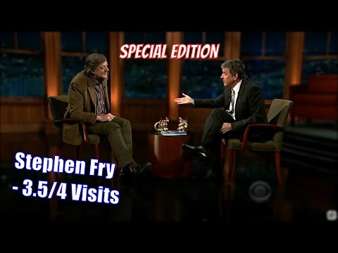 Stephen Fry  Long Time Friend of Craigs  Special Edition Helpful Text & ry