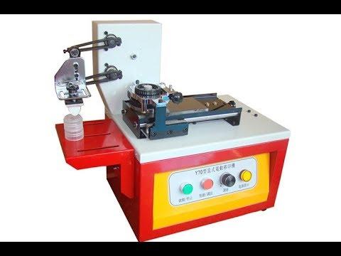 pad printing machine for logo printing data on led bulbs cfl cctv
