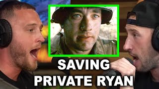 WHAT WAS IT LIKE ON SET OF SAVING PRIVATE RYAN? | Chet Hanks