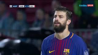 Barcelona 3-1 Olympiakos   UEFA Şampiyonlar Ligi D Grubu Maç Özeti