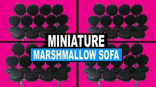 Doll Crafts | How To Make A Miniature Marshmallow Sofa | Dollhouse Replicas | George Nelson