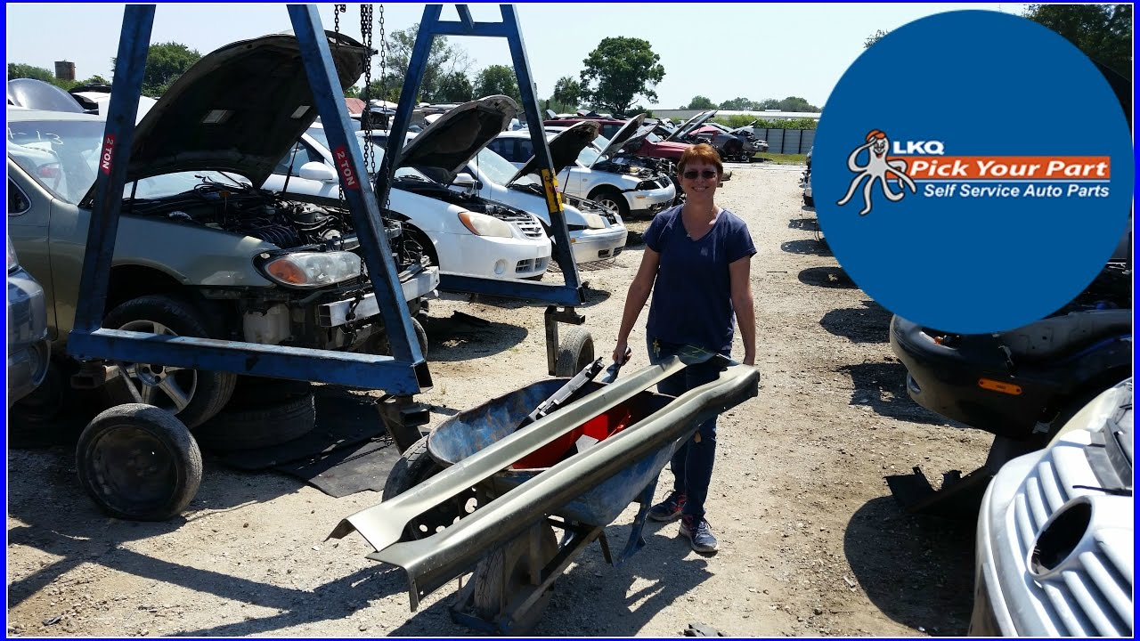 Salvage Yard hunting at LKQ Pick Your Part in Tampa - YouTube