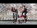 MACHIKA ( J.Balvin - Jeon - Anitta ) Coreografia Vídeo