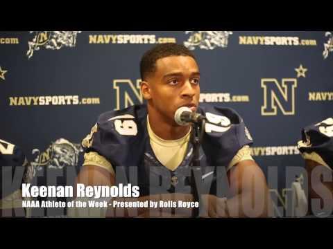 Keenan Reynolds - NAAA Athlete of the Week