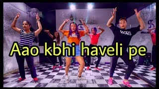 Aao Kabhi Haveli Pe Dance Cover | Stree | Kriti Sanon | Badshah | Dance choreography