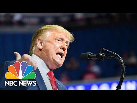 Watch: Trump Bashes Protesters, Uses Racist Terms in Tulsa After Juneteenth | NBC News