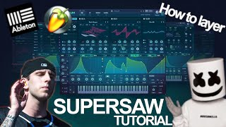 HUGE Illenium Supersaw Tutorial FL Studio 20 (Illenium & Marshmello)