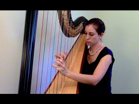 Aria and Rigaudon by Gottfried Kirchhoff/M. Grandjany, Inspirational Videos for Young Harpists #12