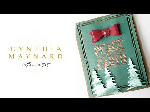Stampin' Up! Carols of Christmas Card Stamp Set & Dies
