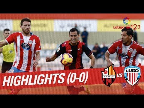 Resumen de CF Reus vs CD Lugo (0-0)