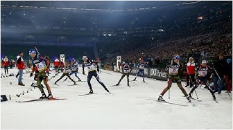 Biathlon: World Team Challenge auf Schalke LIVE im TV, Stream, Ticker