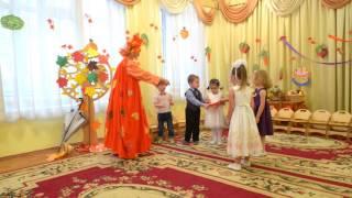 Скачать Праздник осени в младшей группе 27 10 2016