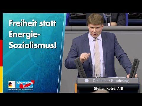 Freiheit statt Energie-Sozialismus! - Steffen Kotré - AfD-Fraktion im Bundestag