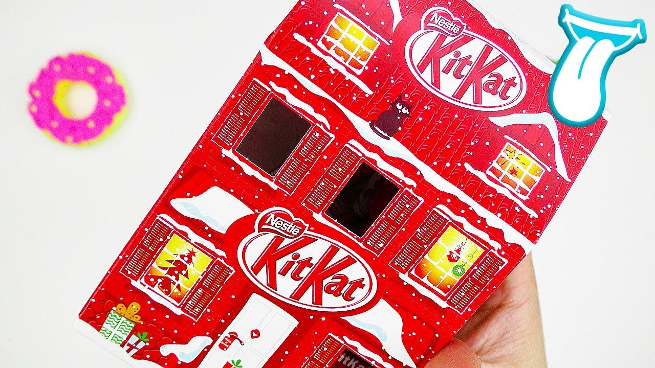 Weihnachtsdeko Zum Essen.Kitkat Adventshäuschen Im Schnelltest Weihnachtsdeko Zum Essen In Aller Munde