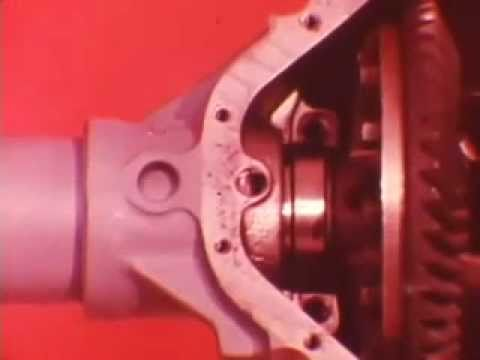 """MTS Video From Chrysler On Servicing The 9 1/4"""" Rear End"""