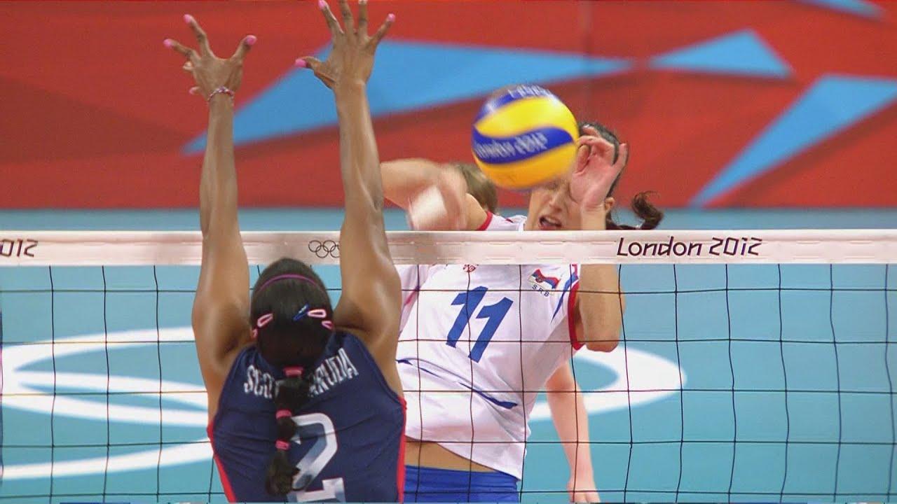 Women S Volleyball Usa V Serbia Pool B Match London 2012 Olympics Youtube