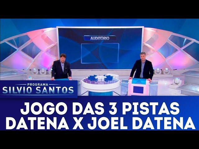 Jogo das 3 Pistas - Datena x Joel Datena | Programa Silvio Santos (13/01/19)