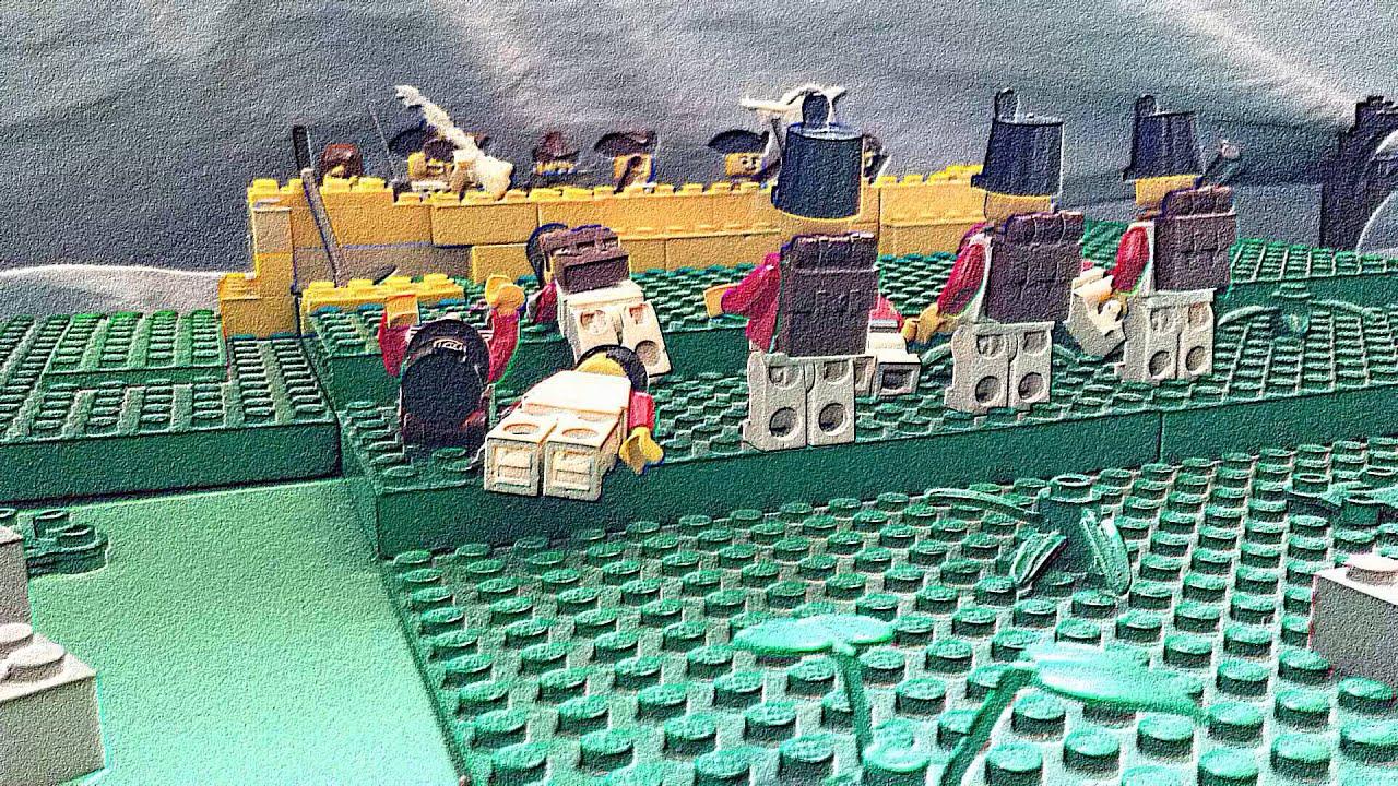 Lego battle of bunker hill