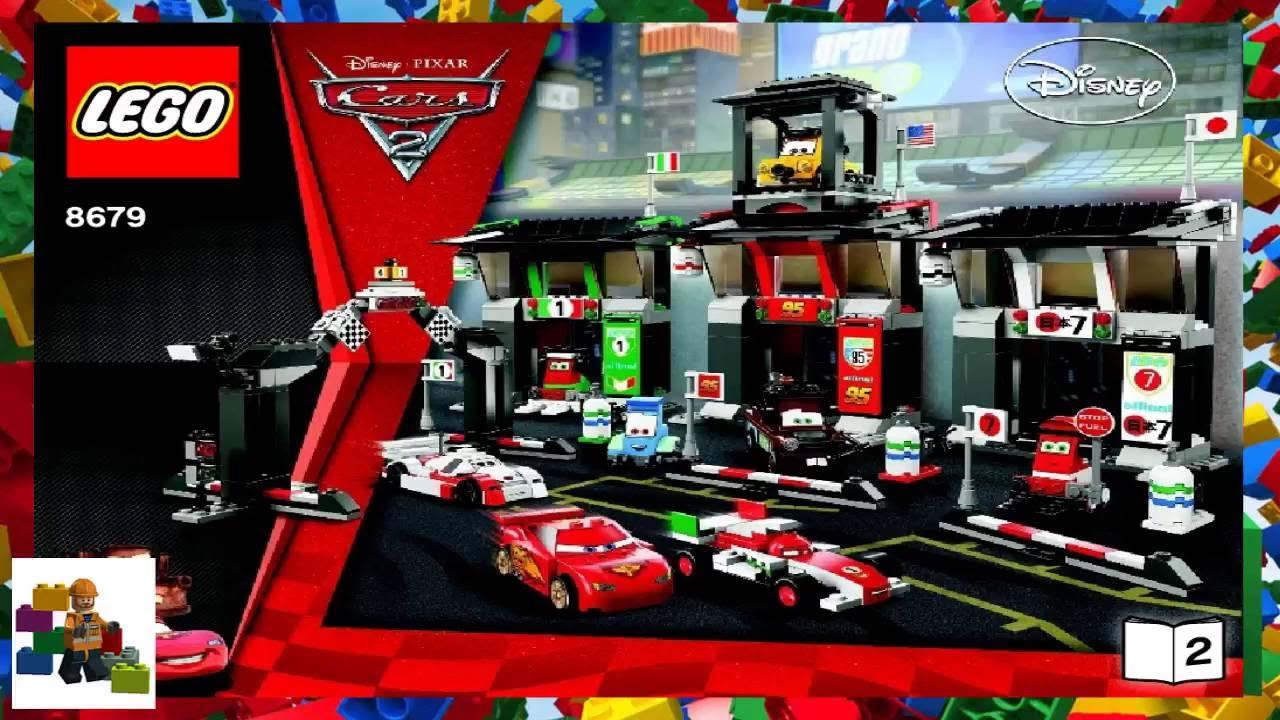 LEGO Instructions - Cars ™ - Tokyo International Circuit - 8679 (Book 2)