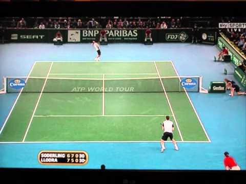 Michael Llodra v Robin Soderling ATP Paris