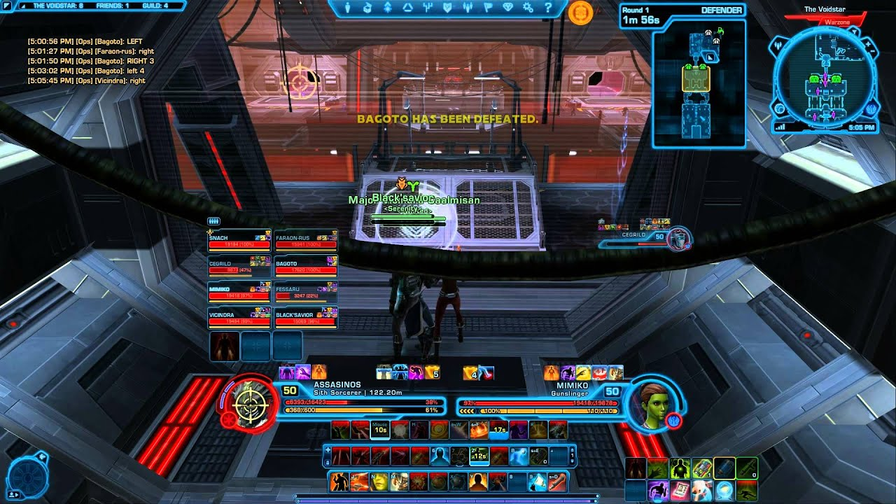 Swtor PvP - Voidstar - Twisted - YouTube