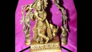Krishna Brass Sculpture