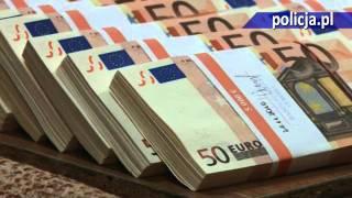 Polska Policja - CBŚ zlikwidowało największy ośrodek fałszerski pieniędzy euro w Europie