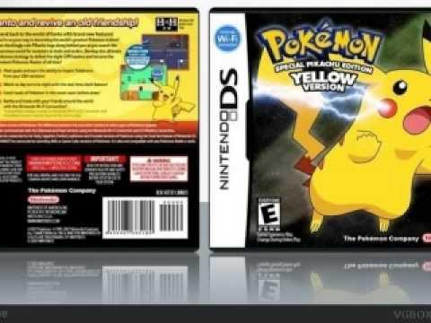 Pokemon Yellow for the Nintendo DSi  YouTube