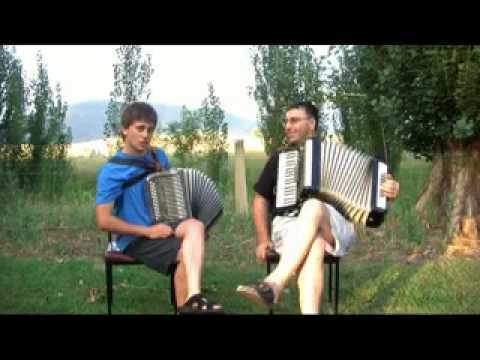"""The River Seine"" and ""Under the Bridges of Paris"" - Accordion Duet"