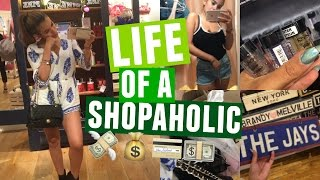 A DAY IN THE LIFE OF A SHOPAHOLIC + Haul