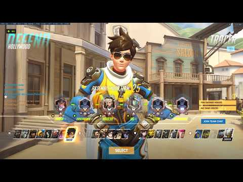 Overwatch Tracer VOD Review #1 08-17-2017