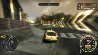 Need For Speed(2005): Challenge Series: #41: Taxi Pizza Delivery