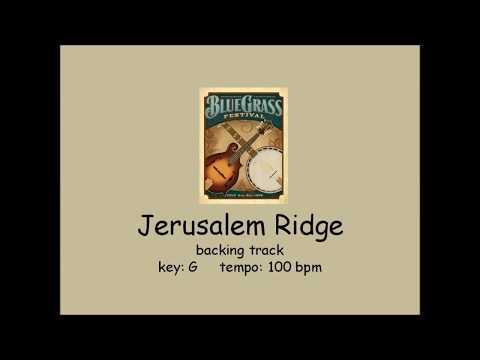 Jerusalem Ridge - bluegrass backing track