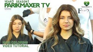 Техника окрашивания омбре Hair coloring video tutorial. parikmaxer tv парикмахер тв(, 2014-03-06T16:29:59.000Z)