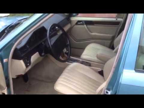 1991 Mercedes w124 300d turbo diesel  YouTube
