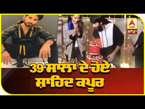 Shahid Kapoor Celebrates his 39th Birthday with family in Chandigarh | Jersey Shooting