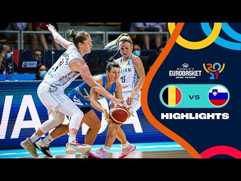 Belgium - Slovenia | Highlights - FIBA Women's EuroBasket 2021