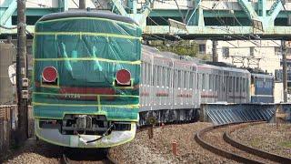 【東武70000系列増備完了】東武70090型71794F 甲種輸送
