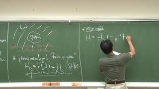 Lecture 3: System-bath model and quantum master equations