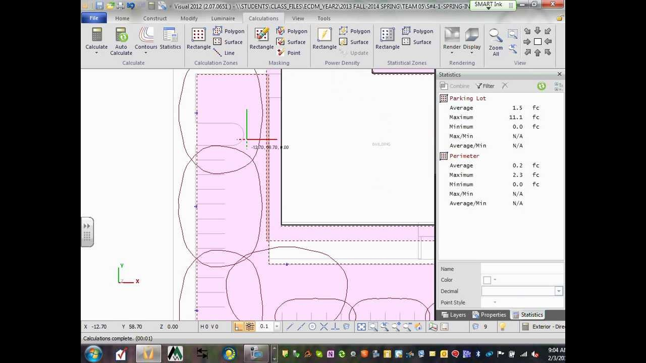 Delightful Lighting Calculation Visual Site Industrial Project 02 03 14