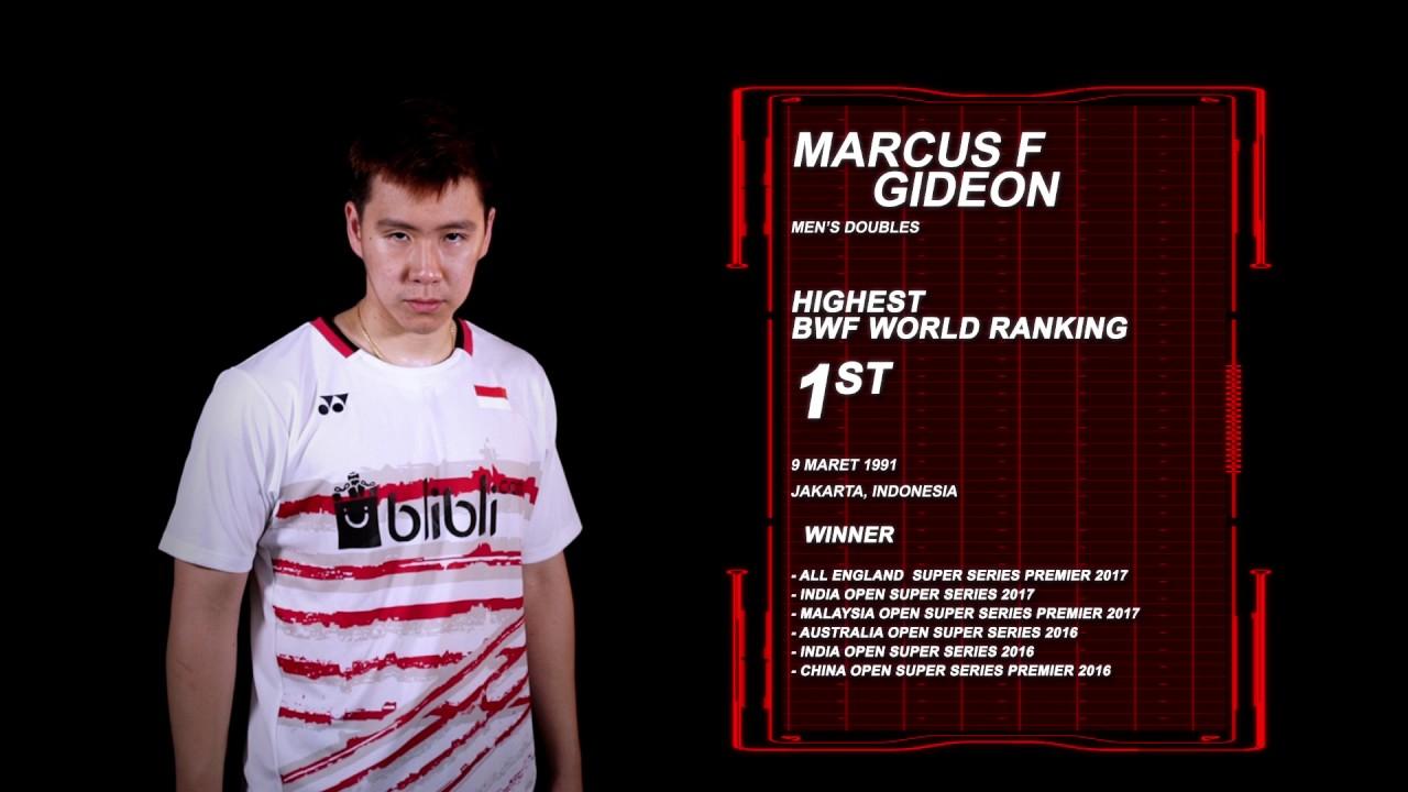 Dukung Markus Fernaldi Gideon di BCA Indonesia Open 2017