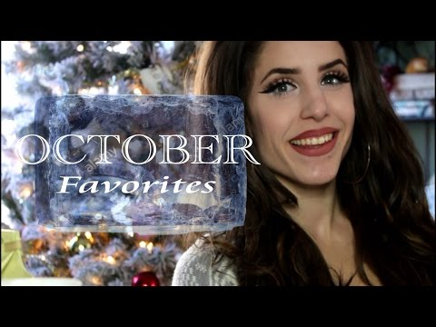**OCTOBER FAVORITES 2016**