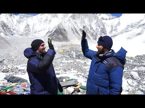 The Trek to Mt Everest Base Camp