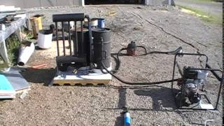 New Wood Gas Gasifier Project 10, Run An Engine On Wood