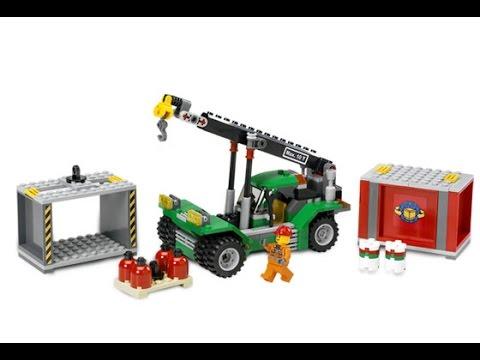 Lego chariot l vateur porte conteneurs jouet pour les for Porte conteneur