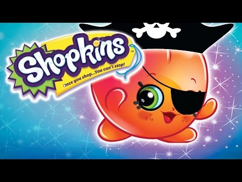 Shopkins | 💰 LETS BE PIRATES EPISODE AND COMPILATIONS 💰   | Shopkins cartoons | Toys for Children