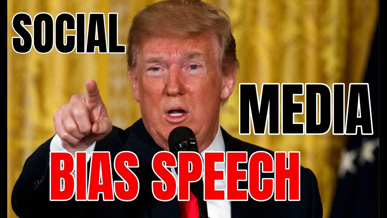 Golden State Times SOCIAL MEDIA BIAS: President Trump URGENT Speech on Leftist Twitter and Facebook